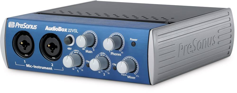 Presonus AudioBox (USB connection) for Music Production