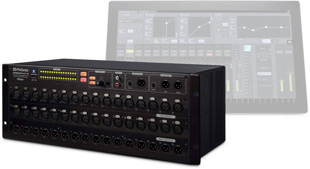 Presonus Rackmounted Interfaces for Music Production