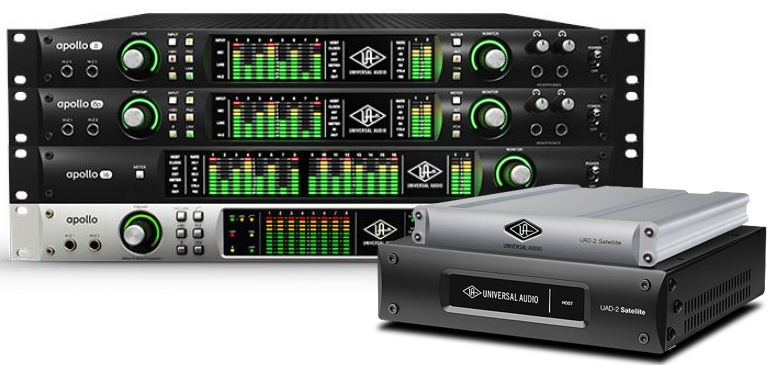 Universal Audio Rackmounted Interfaces for Music Production