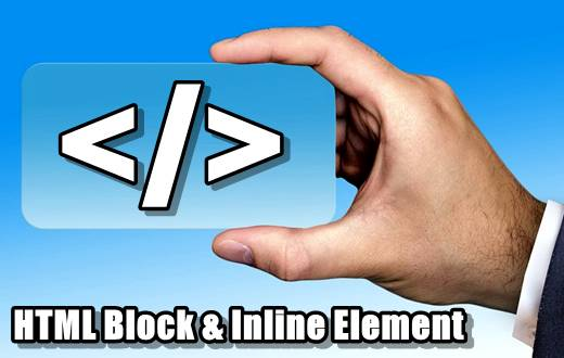 HTML Block & Inline Element Tutorials in Hindi - Part 13