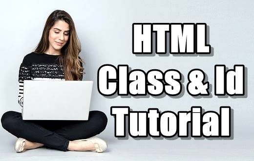 HTML Class & Id Attributes in Hindi - Part 14