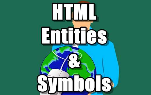 HTML Entities & Symbols Tutorials in Hindi - Part 16