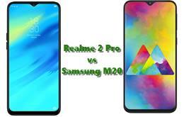 Realme 2 Pro और Samsung M20 में से कौन सा फ़ोन बढ़िया है?